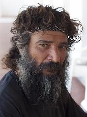 Look of the monk (yuriye) Tags: wild man look greek eyes energy sad serious head monastery symi brutal panormitis yuriye panormiti
