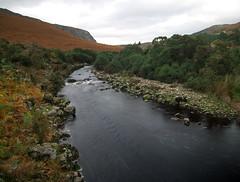 Cloghogue River crossing (Rob Hurson) Tags: autumn ireland orange mountains colour fall countryside pentax cloudy hills ferns wicklow damp k30 pentaxk30 samsung1224mmf4