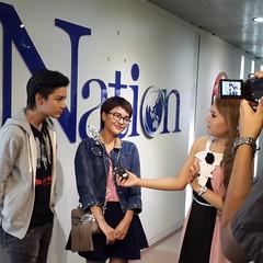 มาทันรายการ #คาเฟ่E ช่อง #NationTV ออนสกู๊ปอัพเดทหนังใหม่ชนโรงพอดี มี #รักลวงหลอน #thecouplemovie  กำลังออกอากาศด้วยจ้าา อย่าลืมไปชมกันนะ 30 ตค นี้