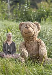 Day 148/365 (Elfur Helgadottir) Tags: bear cute childhood happy teddy good memories dreams hopes times