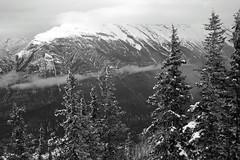 Cloud Layers (JB by the Sea) Tags: blackandwhite bw canada rockies alberta banff rockymountains sulphurmountain banffnationalpark canadianrockies september2014