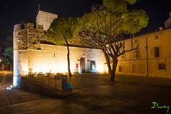 LE SUQUET EN NOCTURNES - CANNES 2013 (daumy) Tags: light france night cannes lumiere chateau nuit nocturne provencealpesctedazur
