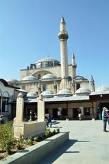 141003017sd Konya - Mevlana Dergahı (galpay) Tags: tower grave museum turkey nikon türkiye tomb mosque sd cami dervishes rumi whirling konya minare mezar kule müze mevlana dergah konia türbe celaleddin galpay astane d7000 141003 mevlanadergahı