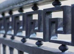 Tarboro_5529 (Barta IV) Tags: metal fence nc iron decorative northcarolina rail ironwork railing tarboro photowalk2014 bartaiv