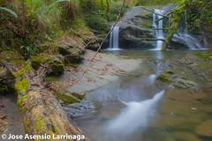 Parque Natural de #Gorbeia  #DePaseoConLarri #Flickr -019 (Jose Asensio Larrinaga (Larri) Larri1276) Tags: euskalherria basquecountry 2014 efectoseda orozkobizkaia parquenaturaldegorbeiagorbea