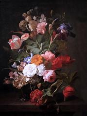 IMG_9772E Rachel Ruysch. 1664-1750. La Haye. (jean louis mazieres) Tags: museum painting denhaag muse peinture netherland museo paysbas thehague mauritshuis peintres lahaye rachelruysch