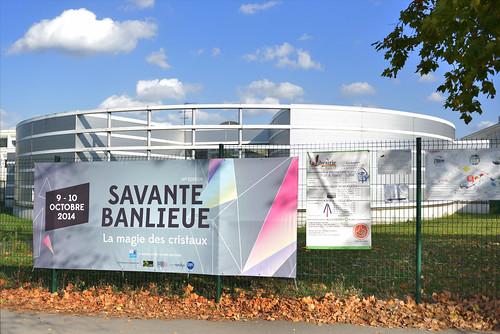 Organisée par Plaine Commune, le CNRS et les universités Paris 8 et Paris 13, la 14e édition de Savante Banlieue a eu lieu les 9 et 10 octobre 2014 © E. Le Grand