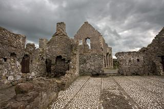 Dunluce Castle Innar Ward