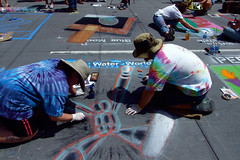 """Water World chalk art (in progress) by Shawn Sapp • <a style=""""font-size:0.8em;"""" href=""""http://www.flickr.com/photos/34843984@N07/15545318692/"""" target=""""_blank"""">View on Flickr</a>"""