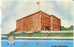 Isle Royale Hotel Brochure (Beaton Institute Archives) Tags: hotel novascotia business capebreton brochure capebretonisland isleroyalehotel