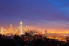 Seattle Skyline (Nick Mulcock) Tags: