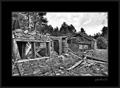 Ruins - Ludlow CO (the Gallopping Geezer 3.5 million + views....) Tags: bw white black west abandoned sepia canon town blackwhite ruins colorado decay ghost gone mining ludlow worn western weathered toned derelict decayed geezer 2007 corel west07101