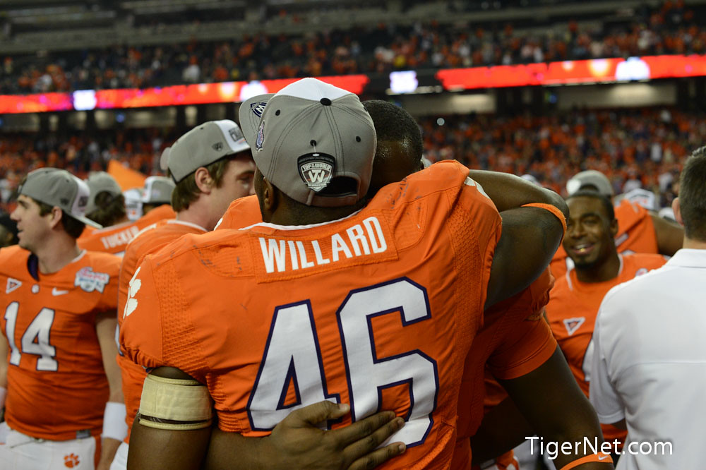 Clemson Photos: 2012, Bowl  Game, Football, Jonathan  Willard, lsu