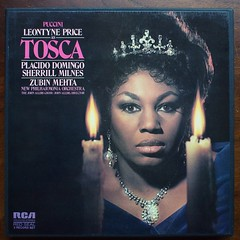 Puccini - Tosca - Leontyne Price, Placido Domingo, Sherrill Milnes, Clifford Grant, Paul Plishka, Francis Egerton, John Gibbs, Michael Rippon, David Pearl, John Alldis Choir, New Philharmonia Orch., Zubin Mehta, RCA ARL2-0105, Box 2 Lp, 1973 (Piano Piano!) Tags: artwork album vinyl lp record classical disc platte sleeve 1973 hoes gramophone 12inch puccini vynil classique klassiek plaat placidodomingo zubinmehta hulle grammofoon johngibbs sherrillmilnes langspielplatte davidpearl francisegerton paulplishka newphilharmoniaorch box2lp johnalldischoir michaelrippon cliffordgrant toscaleontyneprice rcaarl20105