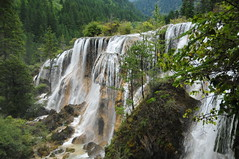 The Nuorilang Falls. (john a d willis) Tags: china for waterfall words you unesco worldheritagesite kind your hank sichuan jiuzhaigou ninevillagevalley nuorilangfalls