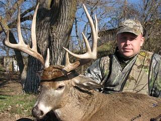 Kansas Trophy Whitetail Bow Hunt 33