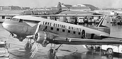 Chicago Midway Airport - Lake Central Airlines - DC-3 (twa1049g) Tags: lake chicago airport central midway airlines dc3 1959 n41831