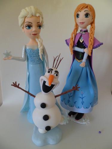 Elza ,Anna e Olaf