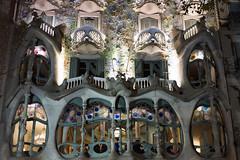 Casa Batllo (J.Elisa.68) Tags: architecture spain europe gaudi espagne casabatllo faade barcelone catalogne passeigdegrcia