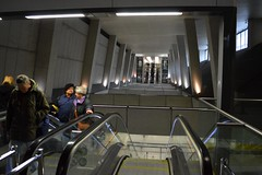 2014_Budapest_0066 (emzepe) Tags: new station architecture modern underground subway hungary linie escalator budapes