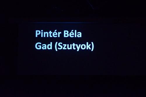 20141031_Нова премијера Српког позоришта у Мађарској: Гад