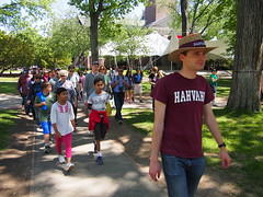 Harvard campus tour