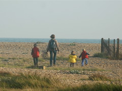 South | Point (Bruners) Tags: beach south dungeness littlepeople heading | dungenessart