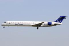 Blue1 MD-90-30 OH-BLU BCN 26/06/2010 (jordi757) Tags: barcelona nikon airplanes bcn douglas blue1 avions mcdonnell d300 elprat md90 lebl ohblu