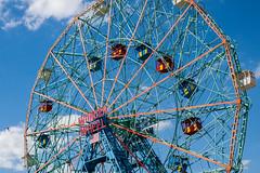 Wonder Wheel, Coney Island, NYC