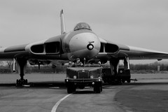 Ever been followed? (Duck 1966) Tags: vulcan wellesbourne xm655 timelineevents
