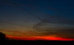 zonsondergang Weerribben