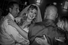Jennifer & Stephen's Wedding (AJ Hége Photography) Tags: wedding people blackandwhite bw love smile canon happy prime blackwhite dance florida union ceremony marriage humans 2014 ajhegephotography ajhégephotography