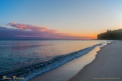 Daybreak at Chapel Beach (Gary of the North(Footsore Fotography)) Tags: sunrise reflections rocks lakesuperior picturedrocksnationallakeshore photosandcalendar puremichigan projectweather cloudsstormssunsetssunrises