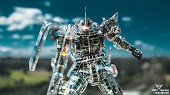 Art of Gundam: ZAKU II (I AM LESLIE) Tags: zaku gundam gunpla bandai aog artofgundam sony 35mm toys robot zeon mecha anime bokeh