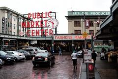 Public Market (Pamela Greer) Tags: 2015 seattle washington publicmarket streetscene topazlabs