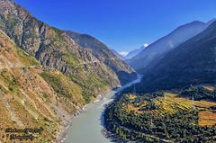 Kohistan (Land of Mountains) (Shehzaad Maroof Khan) Tags: kohistan indus river blue hindukush himalayas karakoram highway fields mountains land khyberpakhtunkhwa pakistan