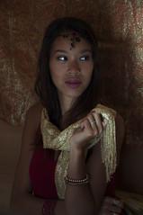 Golden oldies.... (giuliamarcotullio96) Tags: ethnic goldness shining jevellery lights asian ethincportrait jewelry tiara goldenage