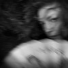 With the Wind (MacroMarcie) Tags: fan chinesefan dragon hair woman selfie selfportrait self macromarcie me 365 project365 wh hereios werehere wah square motion blur portrait wind iphone7plus iphone7 meagainmonday hmam