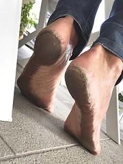 City soles (danragh) Tags: piediscalzi citysoles dirtysoles barefoot