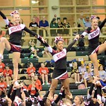 BCHS-Varsity Cheer-Battle of the Bluff-10/17/16