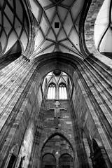 Inside St. Stephen's Cathedral 1 (bloodwithmilk) Tags: nikon d800 vienna wein austria travel architecture nikkor 50mm contrast story buiding
