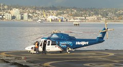 C-GHJP S76A Vancouver heliport 201016 (kitmasterbloke) Tags: vancouver britishcolumbia canada heliport helijet sikorsky s76aspirit