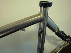 Litespeed Saber 53cm $699 (vintagecyclery) Tags: litespeed titanium saber 53cm