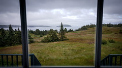 View from Skerwink House windows (gorbould) Tags: 2016 newfoundland portrexton s6 skerwinkhouse galaxy ocean phonepic samsung sea view window newfoundlandandlabrador canada ca