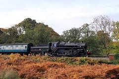 76084 @ Darnholme (TheRosyMole) Tags: 76084 darnholme yorkshire nymr steam railway railroad