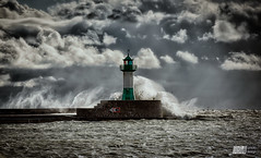 stormy day (Michael Muth - RM Photodesign) Tags: stormy ostsee balticsea rgen sassnitz waves clouds