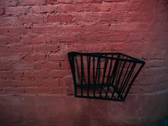 (agridulce?) Tags: black red wall brick urban trash urbano basura rojo negro ladrillos pared cuenca ecuador