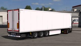 Scania R580 + Krone Coolliner Rework