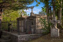 AULLENE-3 (philippemurtas) Tags: aullene village corse france maison habitation pierrre corsica house dwelling stone cimetiere tombe cemetery tomb