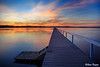 0S1A5035enthuse (Steve Daggar) Tags: longjetty sunset landscape gosford nswcentralcoast jetty wharf waterscape lake